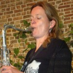 Sigrun Jording saxphonist from Holland